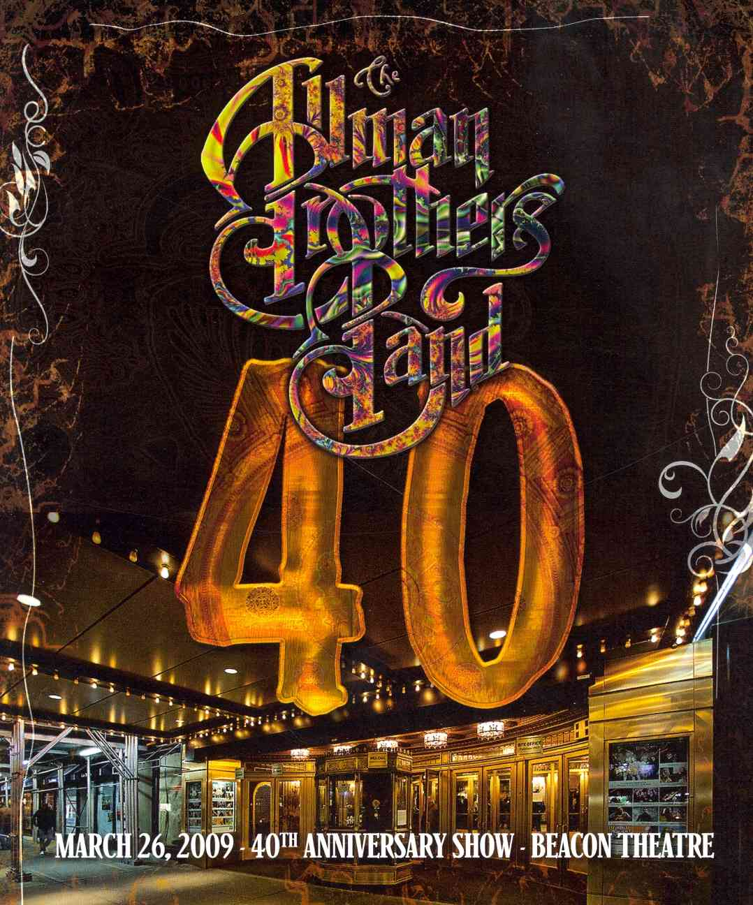 40:40TH ANNIVERSARY SHOW LIVE AT THE BY ALLMAN BROTHERS BAND (DVD)